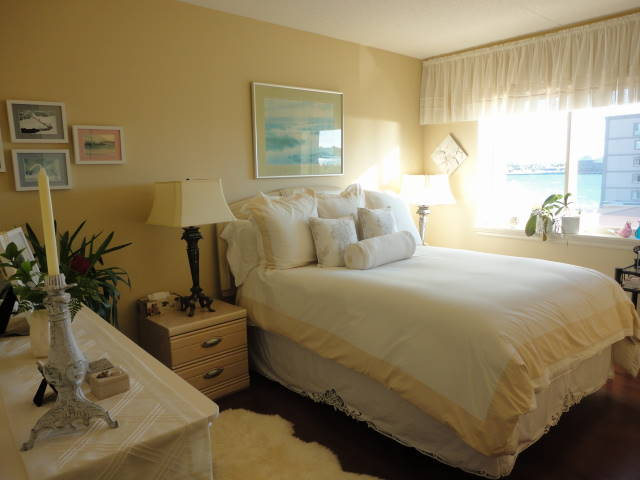 Waterfront Manor Bedroom